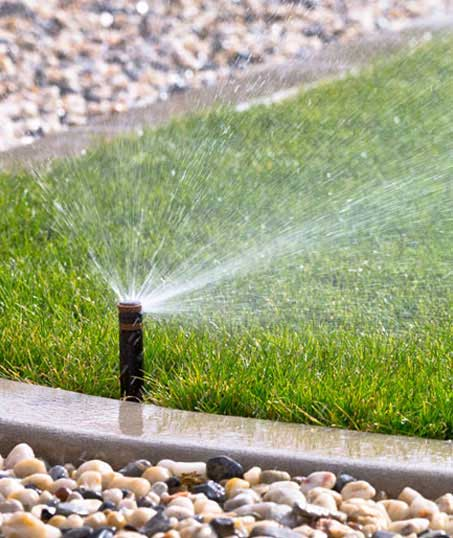 Golden Willow Landscaping Inc. Sprinkler System Repairs