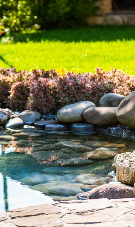 Golden Willow Landscaping Inc. Residential Water Features